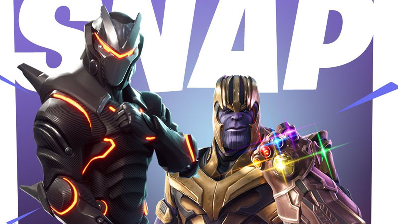 Fortnite vs Vingadores-Guerra Infinita