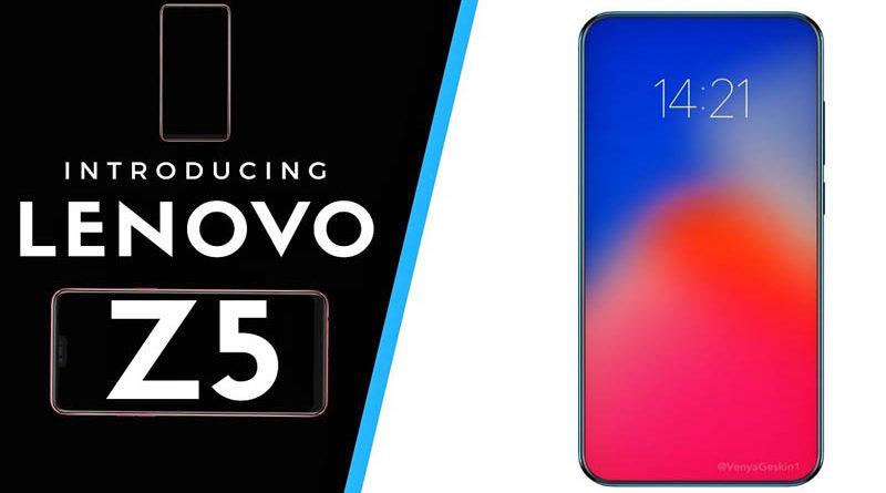 Lenovo Z5 pode ser lançado com 4 TB de armazenamento interno