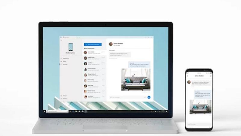 Microsoft lança aplicativo que espenha smartphone no pc