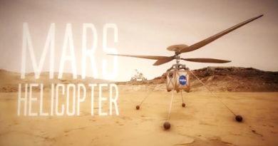 NASA vai enviar helicóptero para Marte