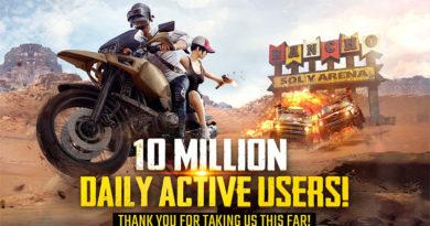 PUBG Mobile supera a marca de 10 milhões de jogadores diários