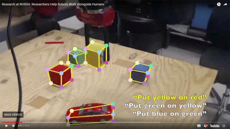 Pesquisadores criam robôs que podem completar tarefas observando seres humanos