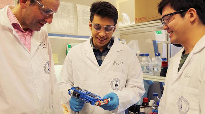 Pesquisadores desenvolvem impressora 3D portátil capaz de imprimir pele humana