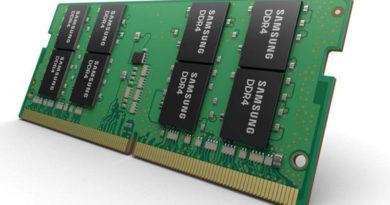 Samsung está fabricando memórias DDR4 de 32 GB no formato SoDIMM