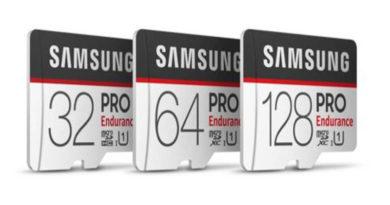 Samsung revela novos cartões microSD que podem gravar até cinco anos de vídeo Full HD