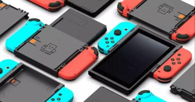 Acessório de aderência vertical para o Nintendo Switch será lançado no Kickstarter