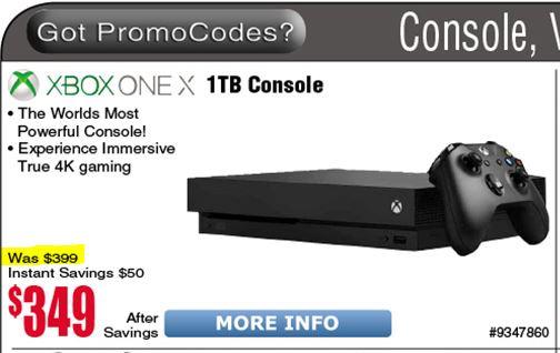 Boatos dizem que a Microsoft reduziu hoje o preço do Xbox One X