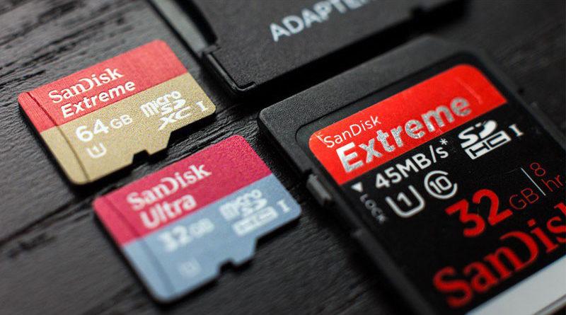 Cartões SD podem em breve conter 128 TB de armazenamento