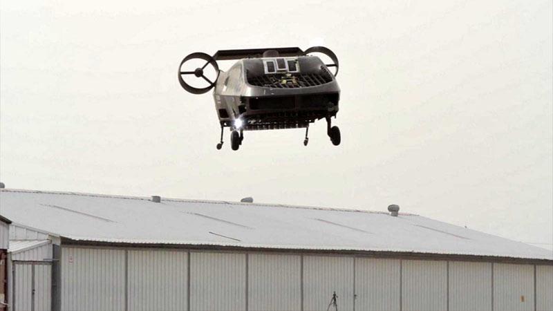 Drone-resgate, é autonômo e pode resgatar até duas pessoas