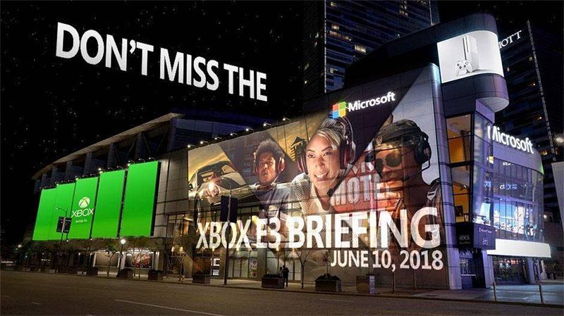 Microsoft - conferência E3 2018