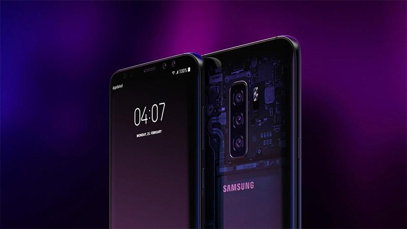 Samsung Galaxy S10 pode chegar com câmeras tripla e traseira semitransparente