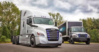 Transporte pesado da Daimler será elétrico e autônomo