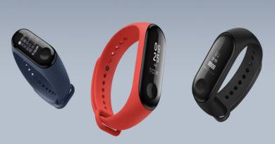 Xiaomi anuncia pulseira fitness Mi Band 3 com bateria que dura 20 dias