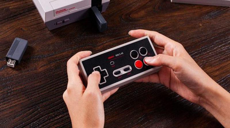 8BitDo revela controle sem fio para o NES Classic Edition