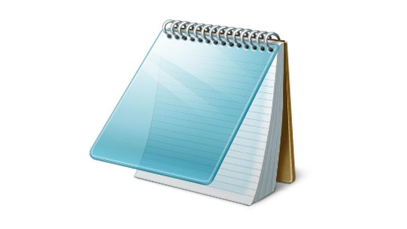 Aplicativo Notepad do Windows é atualizado depois de muitos anos