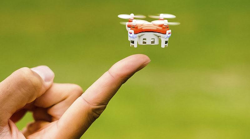 Cientistas desenvolvem o menor drone do mundo