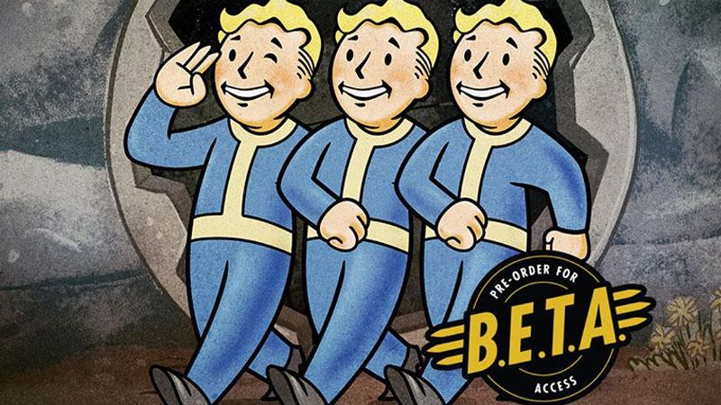 Fallout 76 - Teste Beta