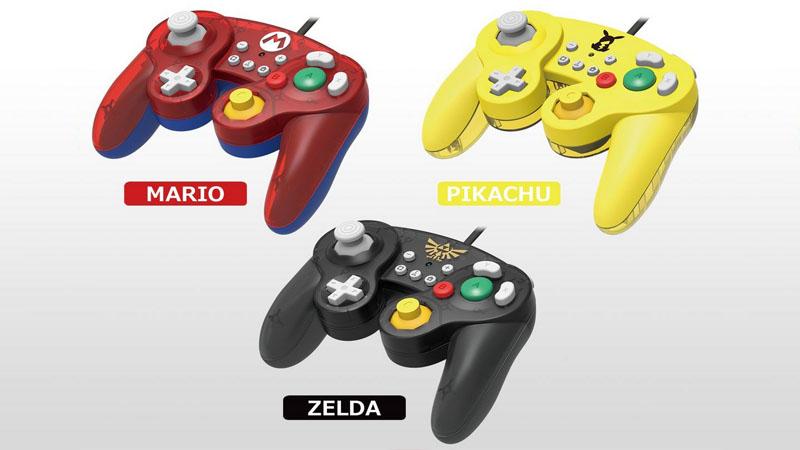 HORI anuncia novos controles estilo GameCube para Nintendo Switch