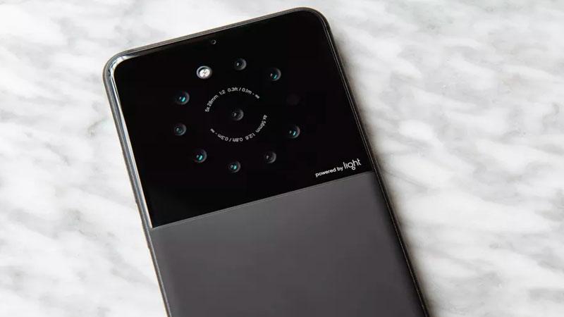 Light está desenvolvendo protótipo pra incluir nove câmera em smartphones