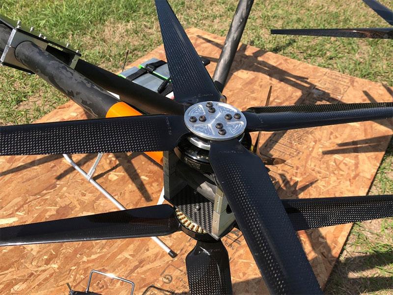 Quadcopter ATLIS é autônomo e pode voar até 160 Kmh