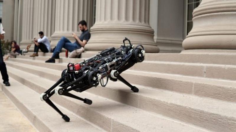 Robô Cheetah 3 do MIT não vê mas consegue se desviar de qualquer obstáculo em seu caminho