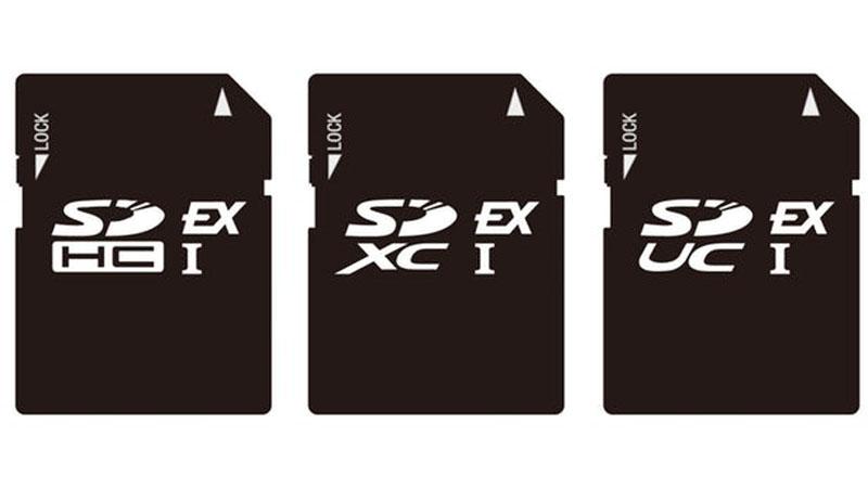 SD Express - Cartão de memória com armazenamento de 128 TB