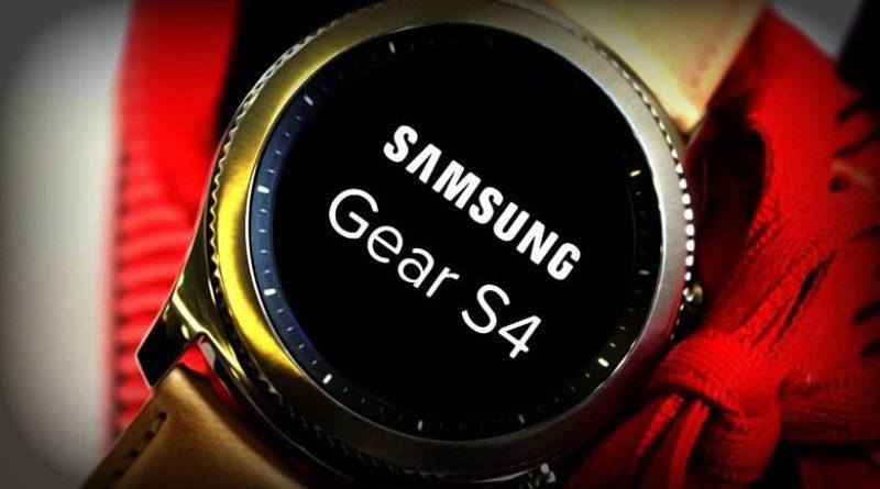 Samsung Gear S4 será lançado em breve
