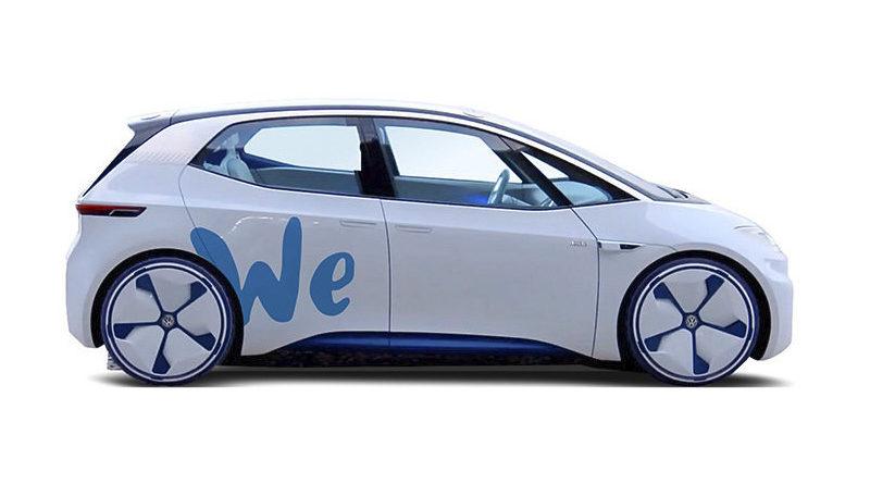 Serviço de compartilhamento de carro elétrico da VW será lançado em 2019