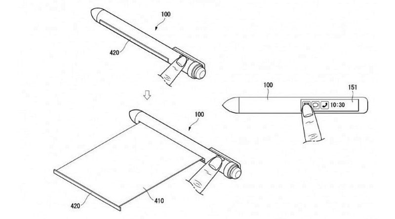 Smartpen - Lg registra patente de Caneta no estilo Smartphone