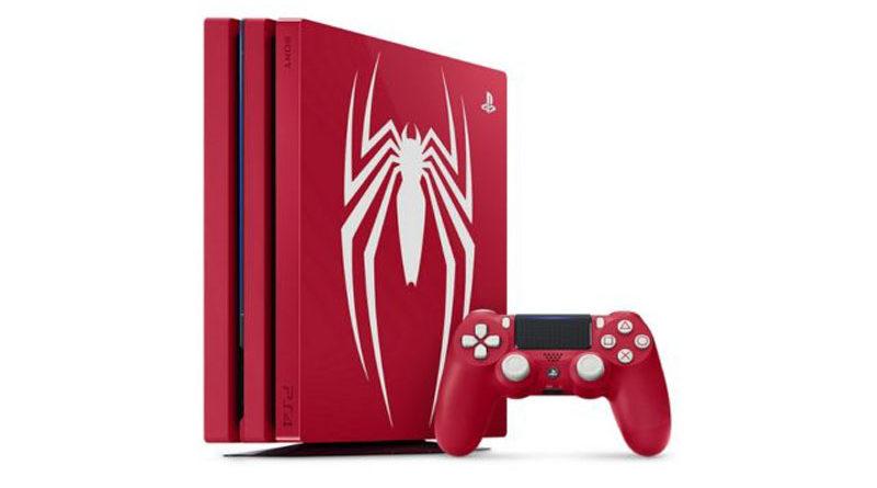 Sony revela edição limitada do PS4 Pro baseado em Spider-Man