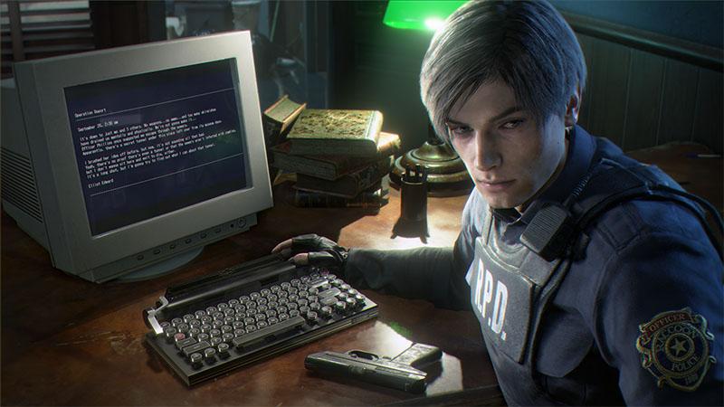 Capcom trouxe do virtual para a realidade teclado do jogo Resident Evil 2 Remake