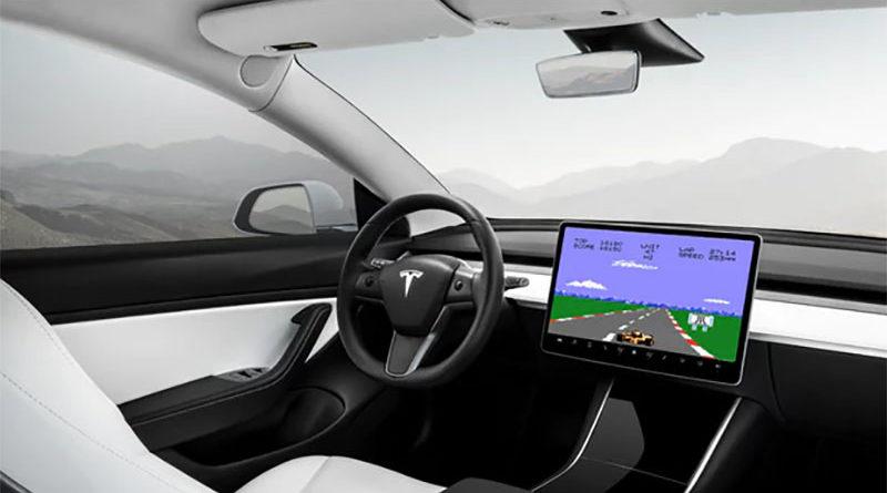 Carros da Tesla terão jogos ATARI