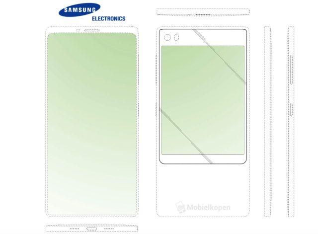 LG e Samsung patentearam design de smartphone com tela dupla