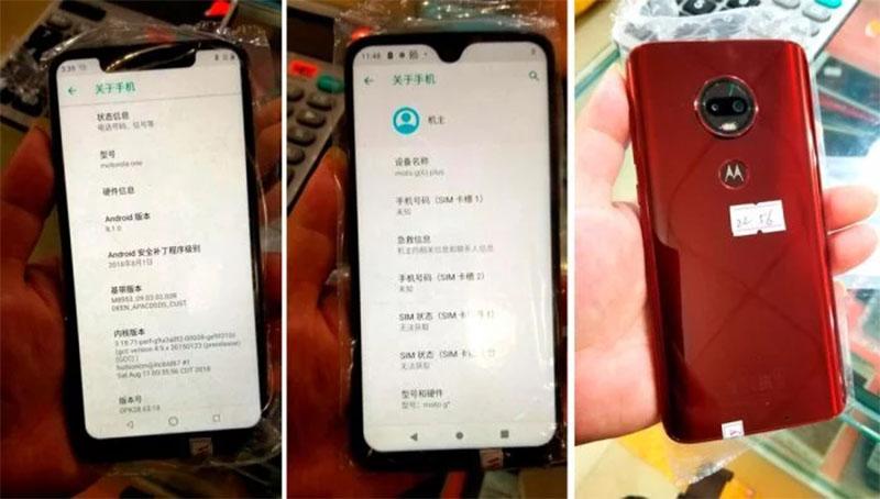 Motorola Moto G7 pode chegar com entalhe em forma de gota