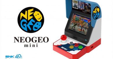 Neo Geo Mini - Um pequeno fliperama que tem mais de 40 jogos