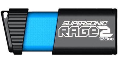 Pen Drive Supersonic Rage 2 de 128 GB custa apenas US$ 37,99