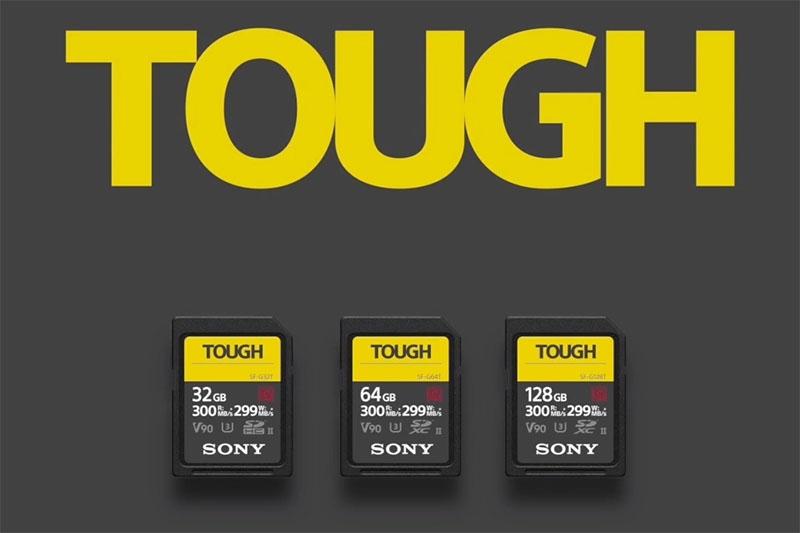 A Sony lançou na IFA 2018 uma linha de cartões SDda sérieSF-G TOUGH, pois são mais rápidos e super resistentes.