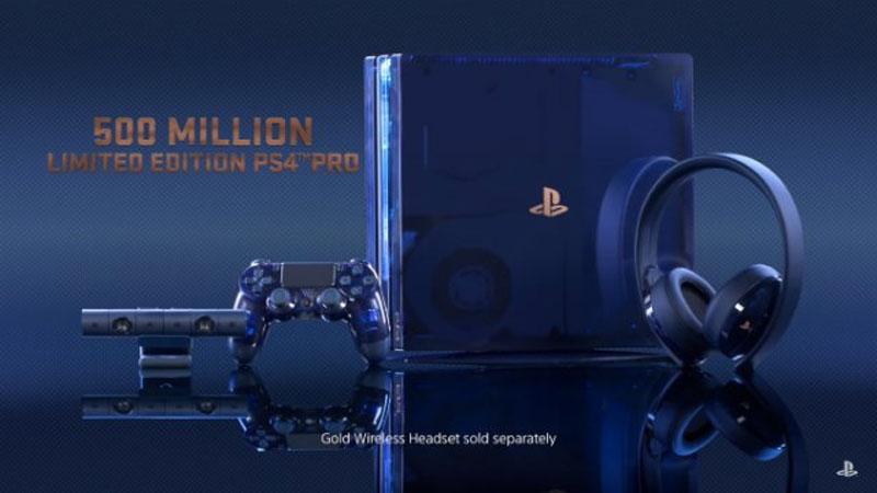 Sony lança edição limitada do PlayStation 4 Pro com 2TB