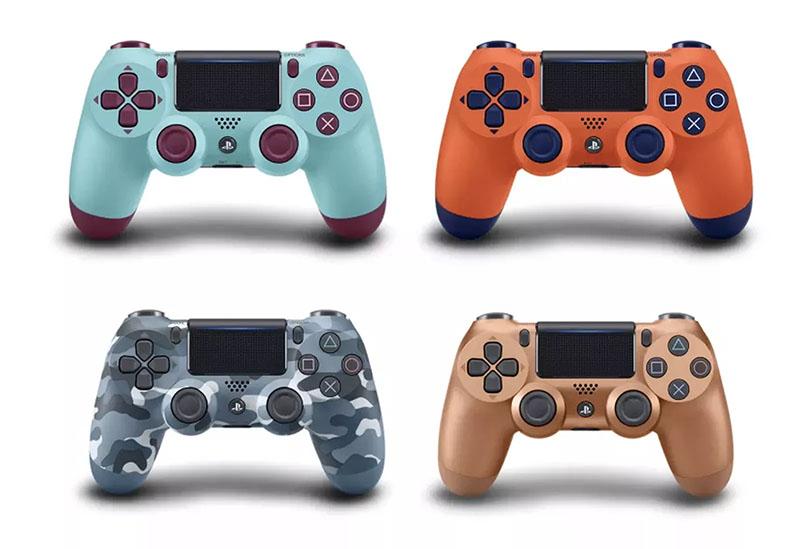 Sony lança novos controles com cores extravagantes para o PlayStation 4