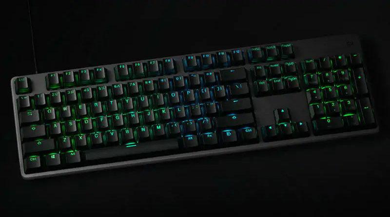 Xiaomi revela no mercado teclado com Retroiluminação RGB