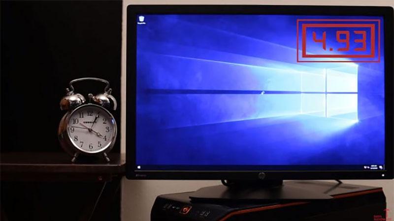Este PC com Windows 10 tem um tempo de inicialização incrivelmente rápido de apenas 4,9 segundos