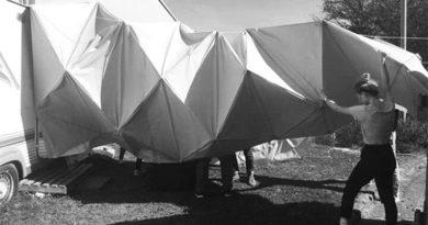 Pesquisadores estão desenvolvendo estruturas de origami pra possivelmente abrigar astronautas na Lua e em Marte