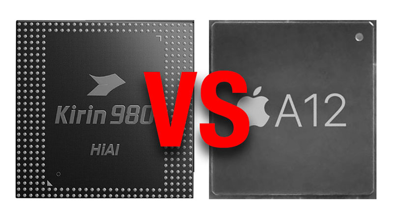 Huawei diz que seu chipset é capaz de superar o A12 bionic da Apple