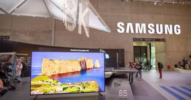 IFA 2018 - Samsung lança TV com resolução 8K e inteligência artificial aprimorada