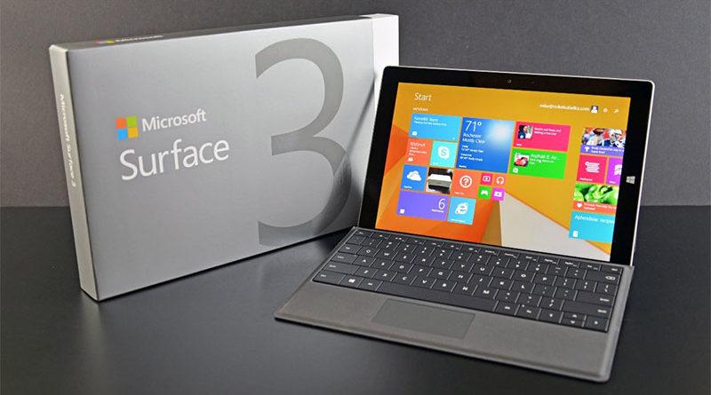 Microsoft pode revelar novos produtos da linha Surface em 2 de outubro