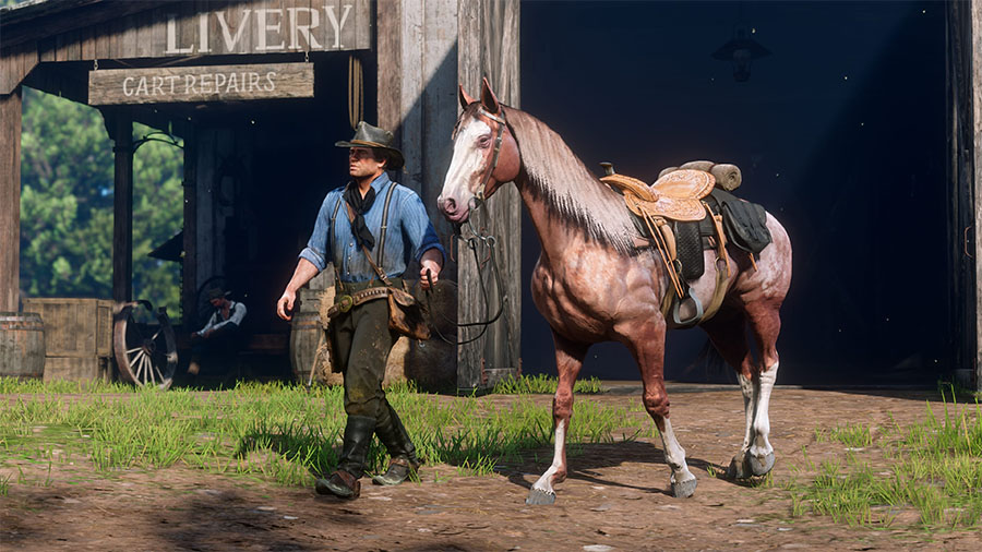 Red Dead Redemption 2 - Cavalos