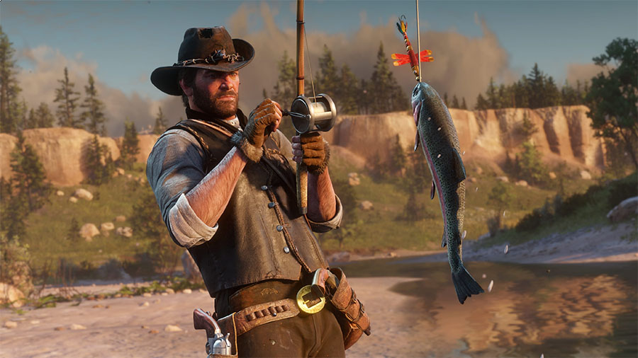 Red Dead Redemption 2 - pesca