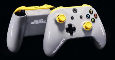 Suas mãos não ficarão mais gordurosas com esse novo controle do Xbox