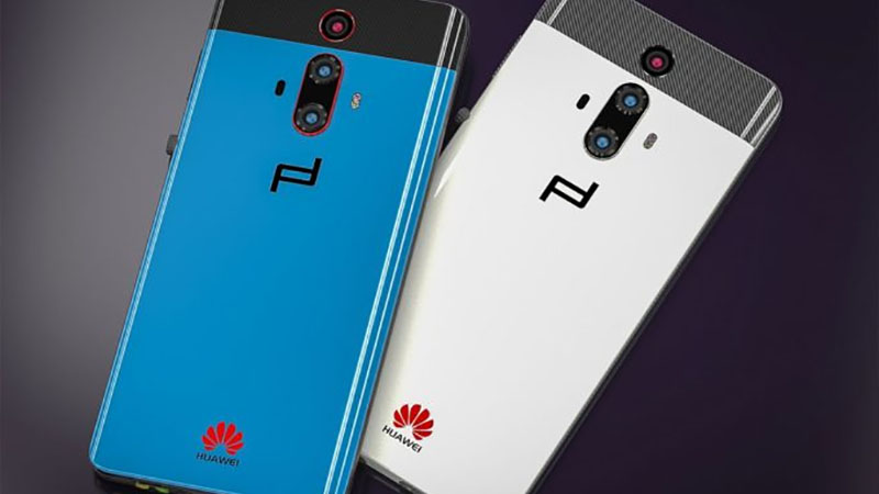 Veja o design conceitual do Huawei Mate RS Turbo inspirado no supercarros da Porsche