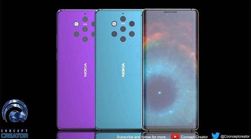 Veja um vídeo conceitual do Nokia 9 com 5 câmeras
